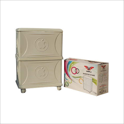 White Inverter Double Battery Trolley