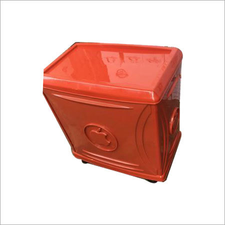 Red Tall Tublar Inverter Trolley
