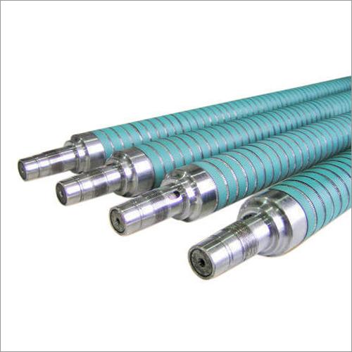Grooved Steel Printing Roller