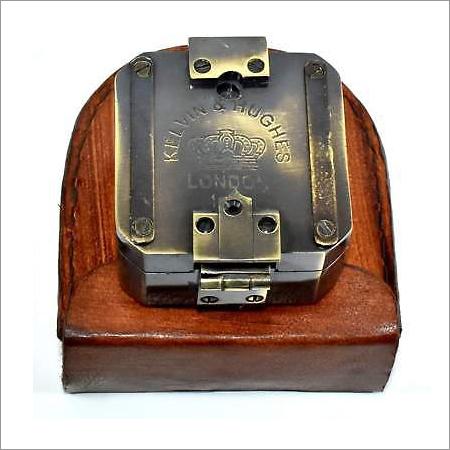 Nautical Brass Antique Maritime Brass Brunton Compass
