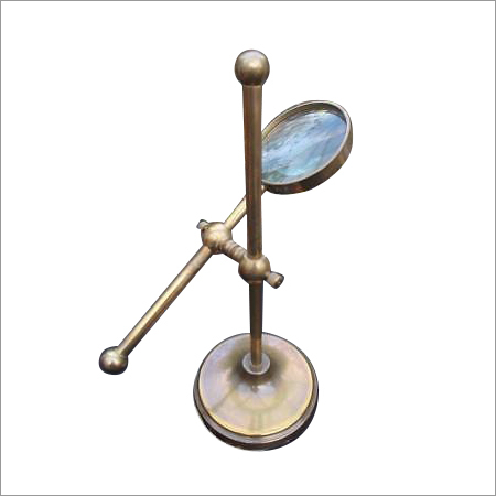 Brass Vintage Magnifier