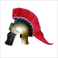 Steel Armor Spartan Helmet