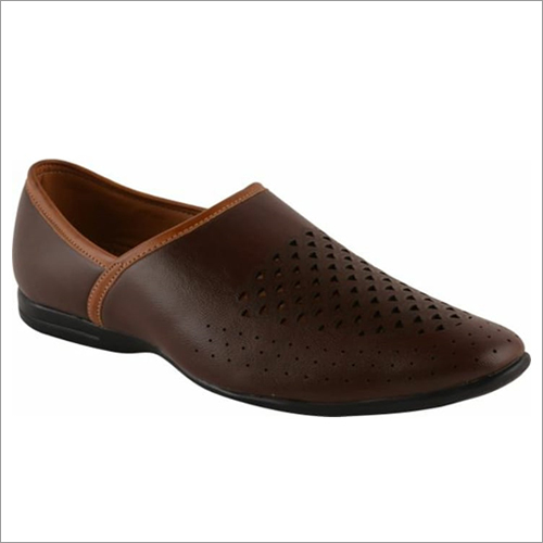 Mens Leather Loafer Shoe