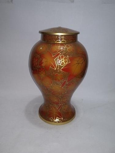 Handmade Brass Metal Cloisonne Cremation Urns