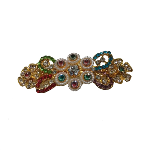 Ladies Multi Color Stone Studded Hair Clips