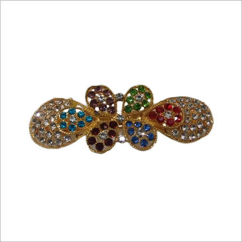 Ladies Modern Stone Hair Clips