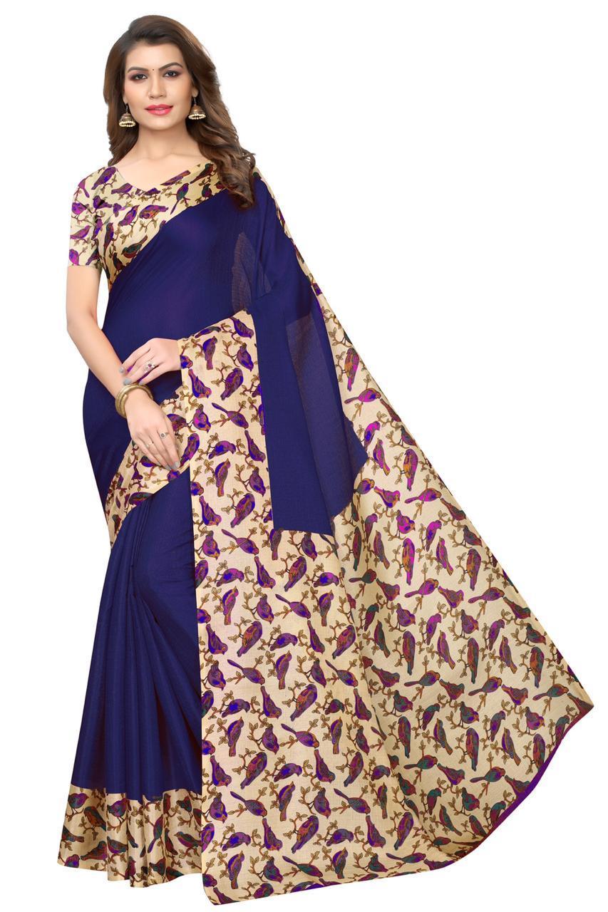New Design Saree In Silk