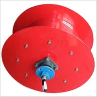 Sprocket Driven Cable Reeling Drum