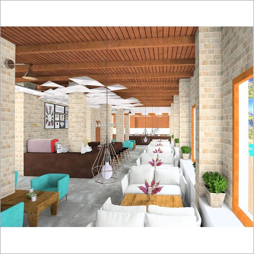 Coffee House Interior Designing Service