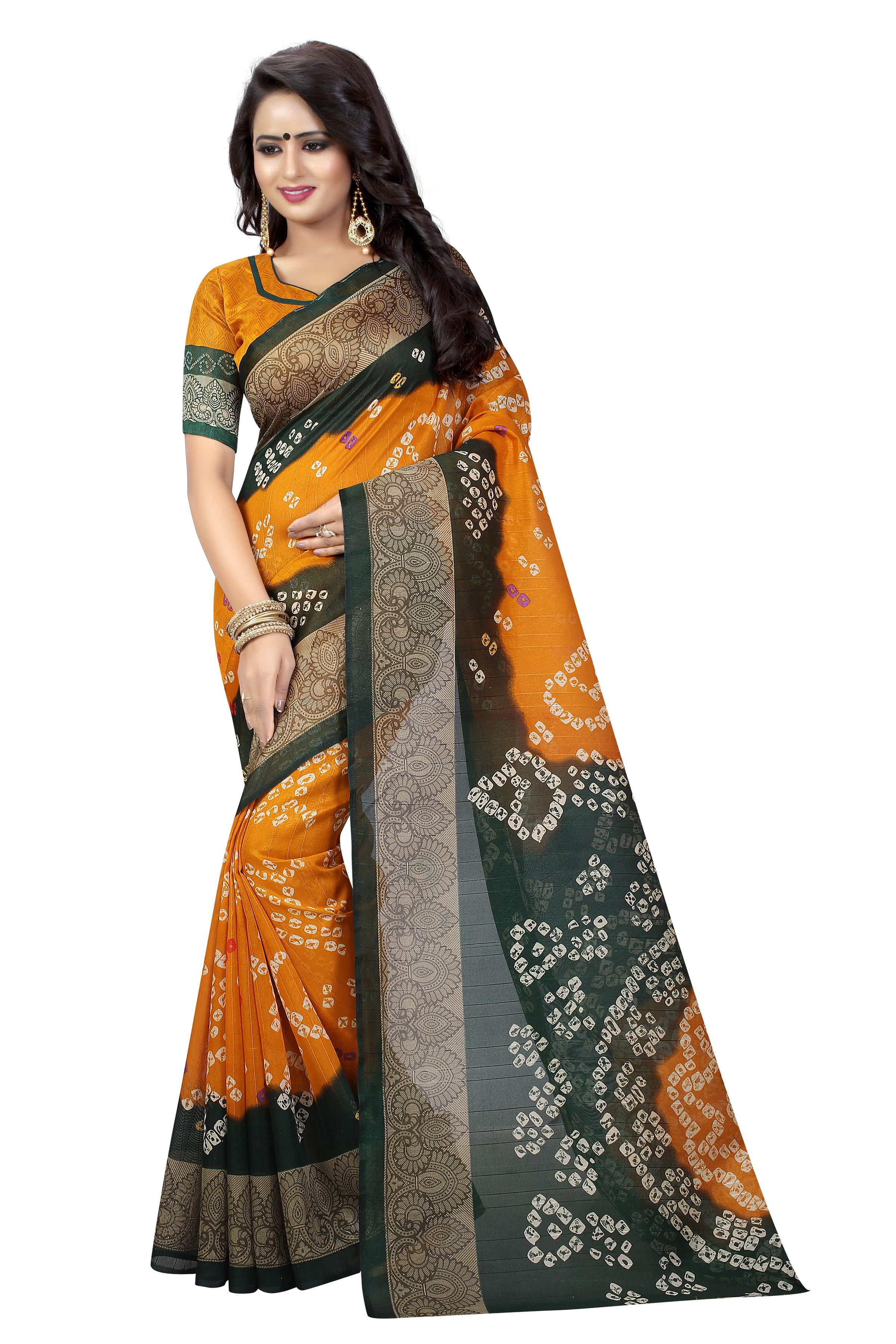 New Bhagalpuri Bandhani Saree