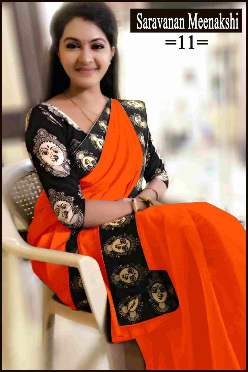 New Design Fancy Chanderi Sarees