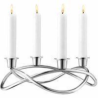 Silver & Gold Candle Holders