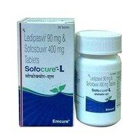 Sofocure L Ledipasvir 90mg Sofosbuvir 400mg Tablet
