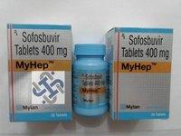 MYHep Sofosbuvir 400mg Tablet