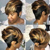 Brown Black Bob