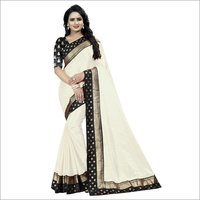 New Design Paper Goli Embroided Saree