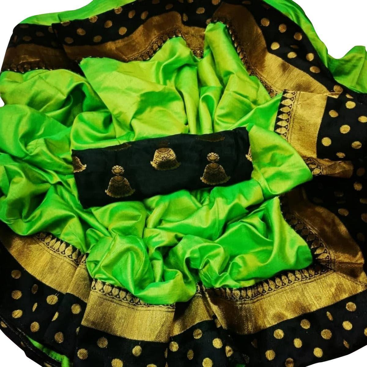 New Design Paper Goli Embroided Saree