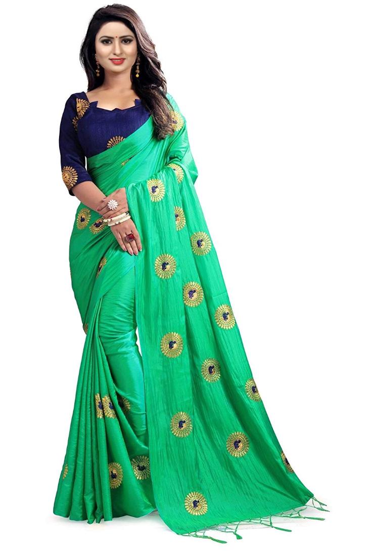 New Roshini Design Embroided Saree