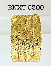 Gold Plated Fashion Brass Bangle