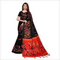 Kalamkari Design Saree