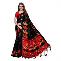 New Kalamkari Shabri Design Saree
