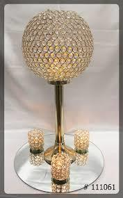 Crystal Candle Stand Holder
