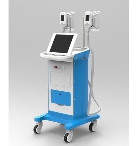 Double Cryolipolysis Working Together Machine