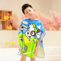 Kids Beach Poncho Towel