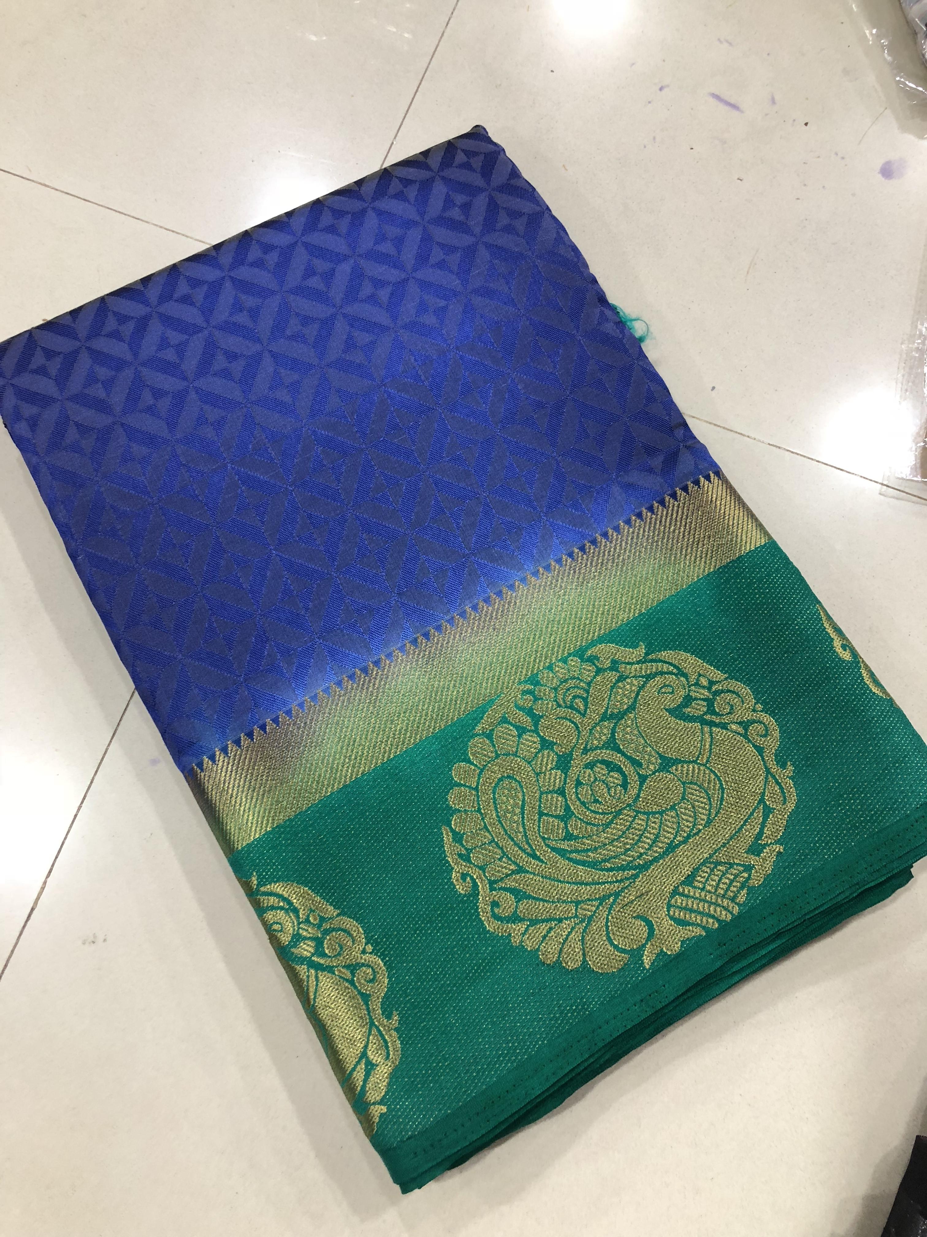 Kanjivaram Annam Saree
