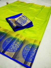 Kanjivaram Bahubali Design Saree