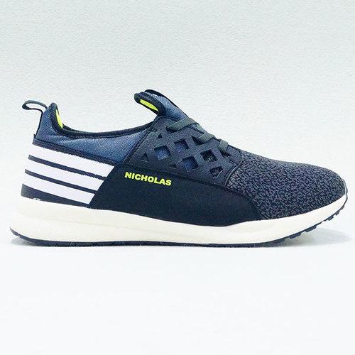 Nicholas Active Navy Blue White Shoe