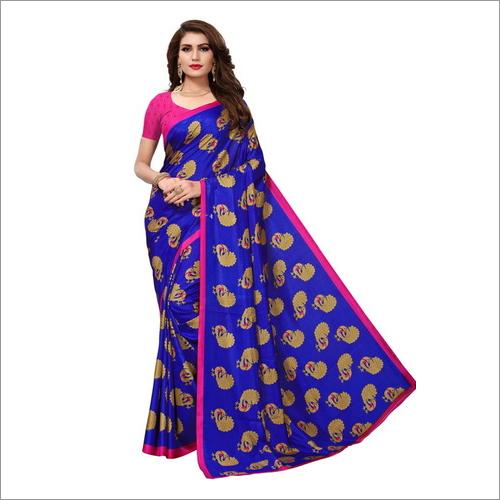 Beautiful Malgudi Silk Saree