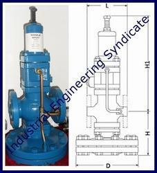 Pressure reducing valve DP-143