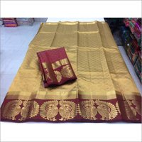 Latest New Kangivaram Twin More Design Saree .