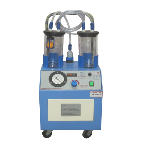 0.50hp S.S. Top Electric Suction Machine