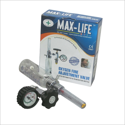 Oxigen Fine Adjustment Valve