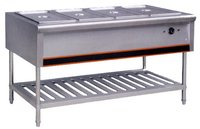 Hot Bain Marie And Counter