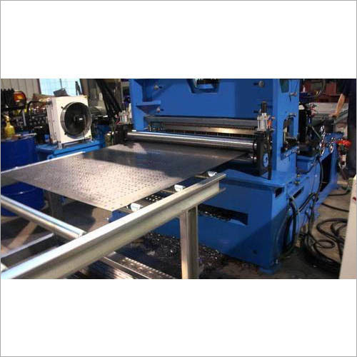 Perforated Cable Tray Machine