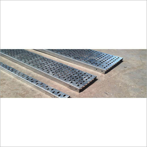GI Perforated Cable Tray Machine