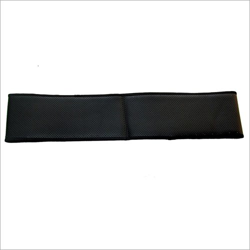 Black Stitching Steering Cover