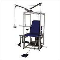 Ankle exerciser machine