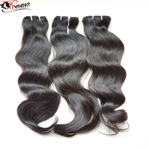 Virgin 100% Indian Human Hair Wholesale Natural Raw Temple