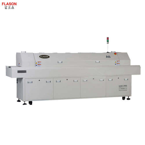 6 Zones Lead Free Hot Air PCB Soldering Machine A6