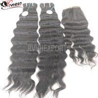Unprocessed Indian Temple Natural Raw Curly Indian Human Hair