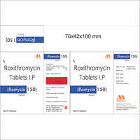 Roxithromycin Tablets 150 mg