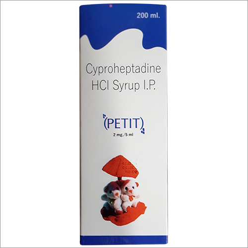 Cyproheptadine Hcl Syrup 200 ml