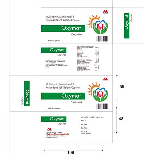 Multivitamin Multimineral  Antioxidants Soft Gelatin Capsules