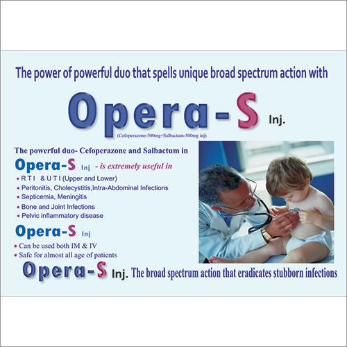 500 mg  Cefoperazone Sulbactam Injection