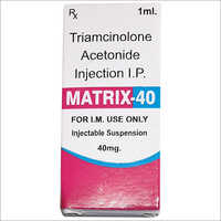 Triamcinolone Acetonide IP 40 mg Injection