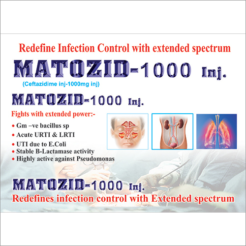 Ceftazidime 1000mg Injection
